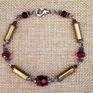 Bullets, Crystals & Bling Bracelet.